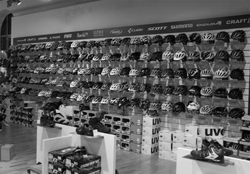 Intérieur du magasin ecovelo 17 à La rochelle